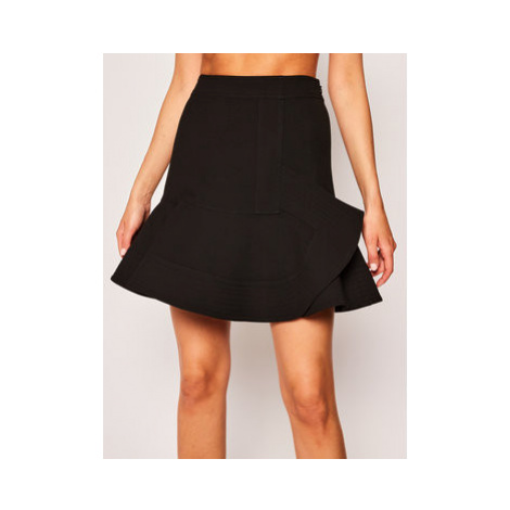 Victoria Victoria Beckham Mini sukňa Lw Double Face 2120WSK000495A Čierna Slim Fit