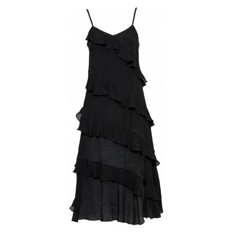 MINKPINK Kokteilové šaty  čierna