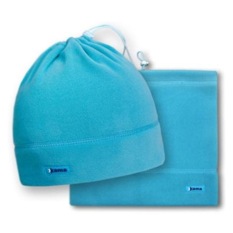 Fleecový nákrčník/čiapka Kama A14