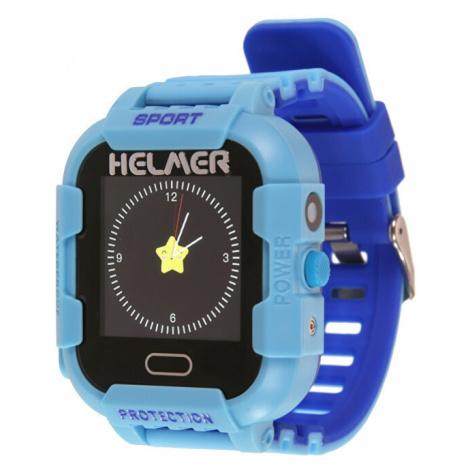 Helmer Chytré dotykové hodinky s GPS lokátorem a fotoaparátem - LK modré - SLEVA II
