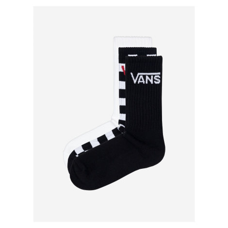 Ponožky 3 páry Vans Čierna