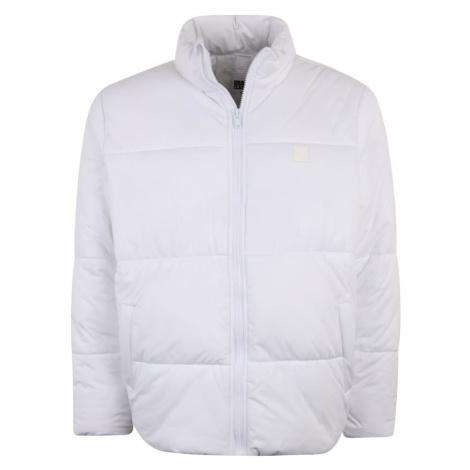 Urban Classics Big & Tall Zimná bunda  biela