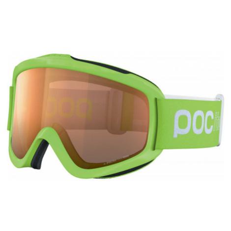 POC POCITO IRIS zelená - Detské lyžiarske okuliare