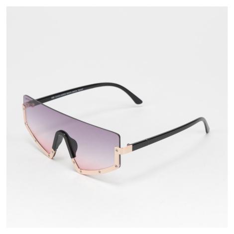 Urban Classics Sunglasses Santa Maria zlaté / čierne