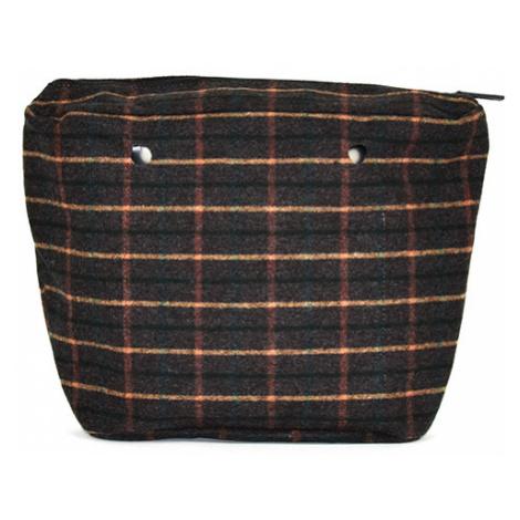 Obag vnútorná taška tartan verde O bag