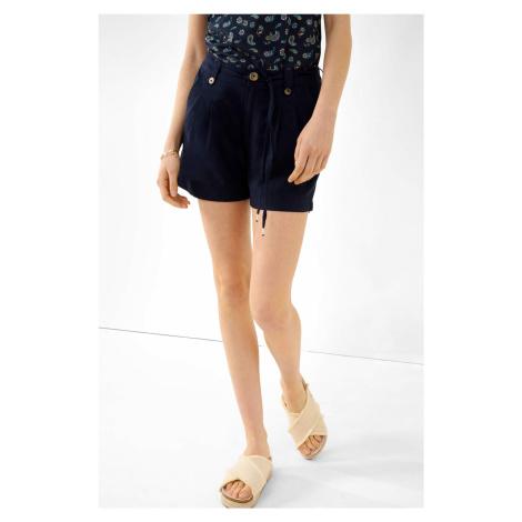 Ľanové šortky slouchy Orsay