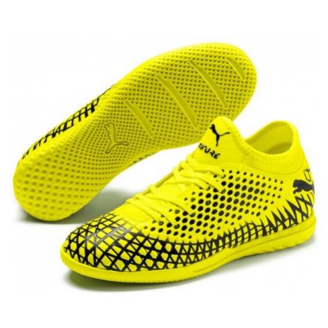 Puma FUTURE 4.4 IT JR žltá - Detská halová obuv