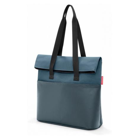 Taška cez plece Reisenthel Foldbag Canvas Blue