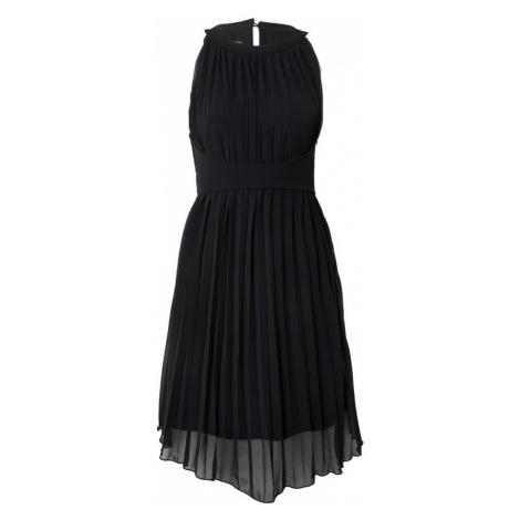 APART Kokteilové šaty  čierna