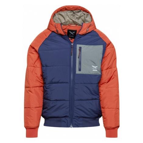 Iriedaily Zimná bunda  oranžová / námornícka modrá
