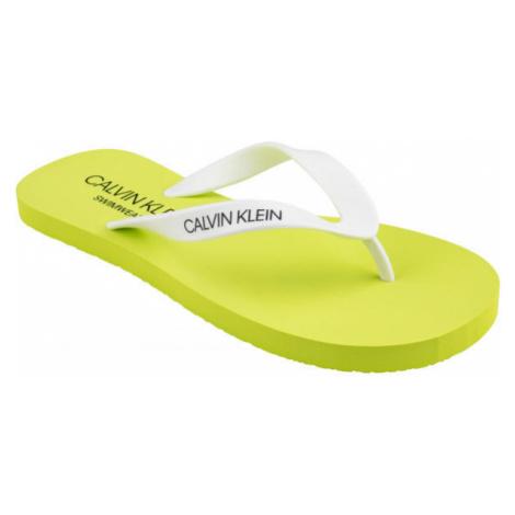Calvin Klein FF SANDALS žltá - Pánske žabky