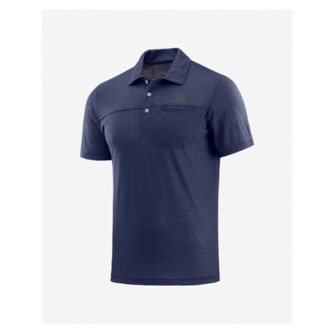 Salomon Polo tričko Modrá