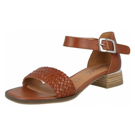 CAPRICE Remienkové sandále  koňaková