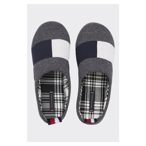 Tommy Hilfiger pánske papuče - sivé