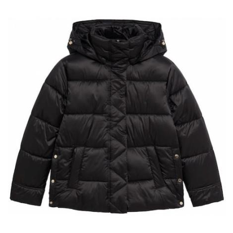 MANGO Zimná bunda 'Opera'  čierna