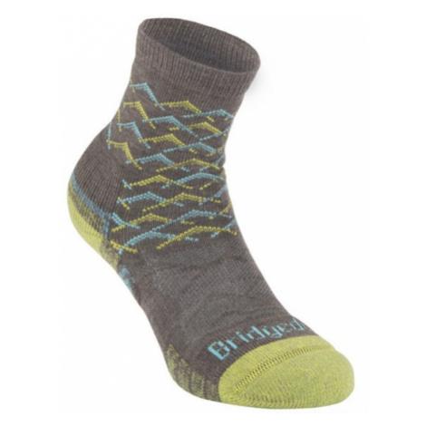 Ponožky Bridgedale Hike Lightweight Merino Performance Ankle Women's brown/lime/120