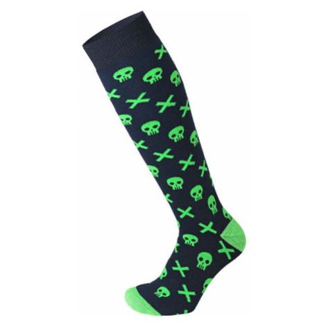 Mico MEDIUM WEIGHT PROTECTION SKI SOCKS JR fialová - Detské lyžiarske ponožky