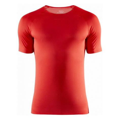 Craft NANOWEIGHT SS červená - Pánske funkčné tričko