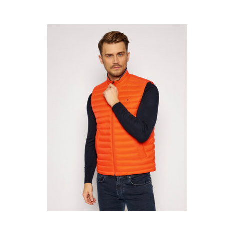 Tommy Hilfiger Vesta Packable Down MW0MW14607 Oranžová Regular Fit