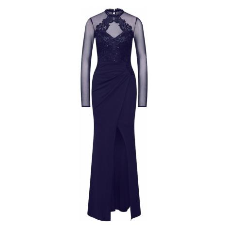 Lipsy Večerné šaty 'WS NVY EMBR HLTR MXI'  námornícka modrá