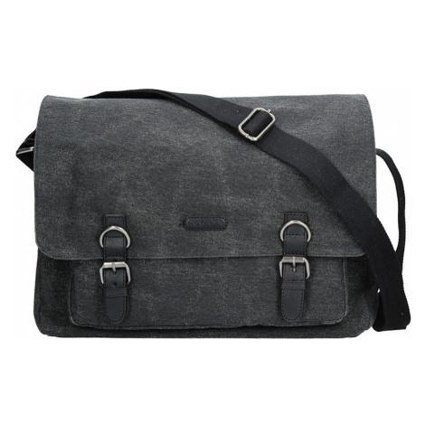 Pánska taška Katana Bredl - čierno-šedá