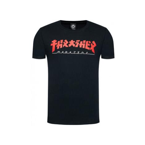 Thrasher Tričko Godzilla Čierna Regular Fit