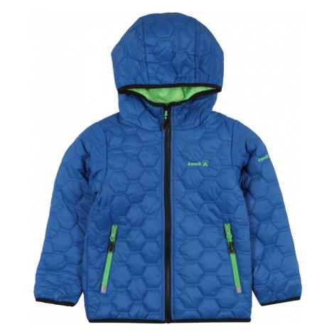 Kamik Outdoorová bunda 'Frank'  limetová / kráľovská modrá