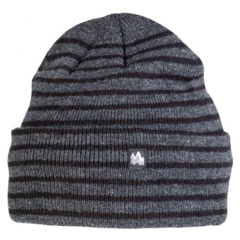 Lewro GOMEZ tmavo šedá - Detská pletená čiapka