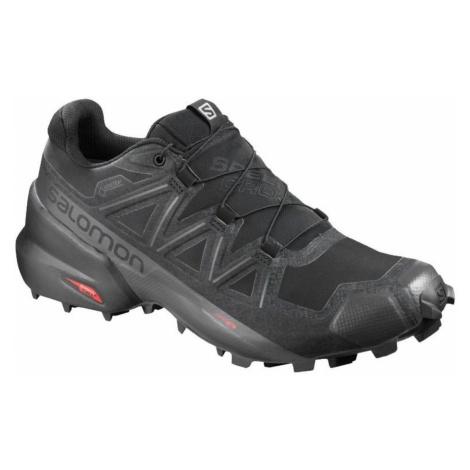 Pánska obuv SALOMON Speedcross 5 GTX Black/Phantom Čierna