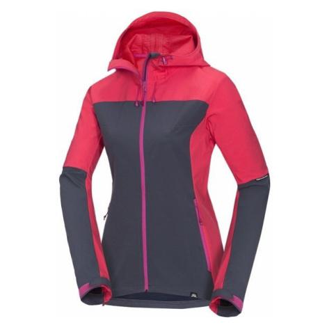 Northfinder MARIE červená - Dámska softshellová bunda