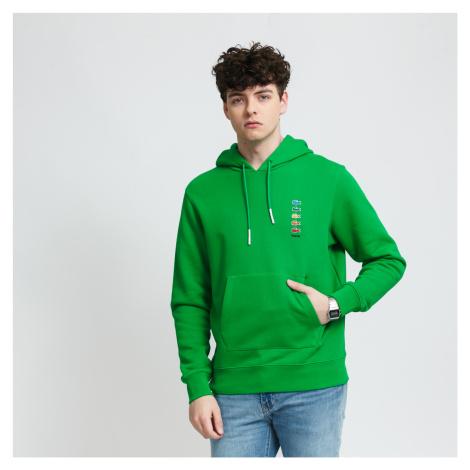 LACOSTE Lacoste x Polaroid Cotton Fleece Sweatshirt zelená