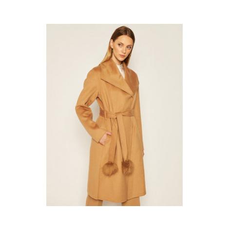 Liu Jo Prechodný kabát WF0249 T4627 Hnedá Regular Fit