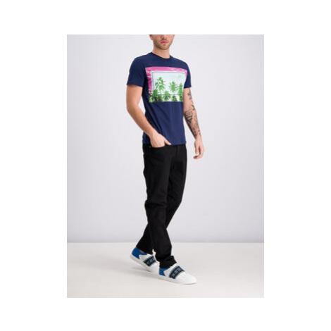 Trussardi Jeans Tričko 52T00202 Tmavomodrá Regular Fit
