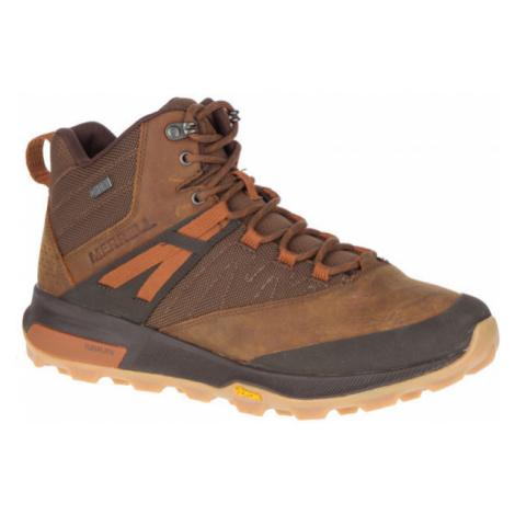 Merrell ZION MID WP - Pánska outdoorová obuv