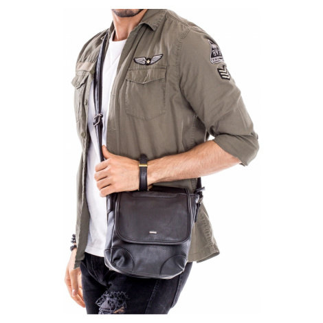 Black men´s shoulder bag