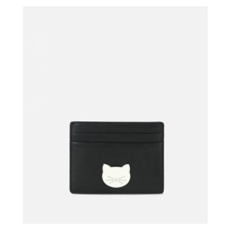 Peňaženka Karl Lagerfeld K/Klassik Pins Card Holder - Čierna