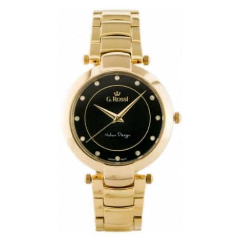 Dámske hodinky s kovovým náramkom Gino Rossi 11382B-1D1