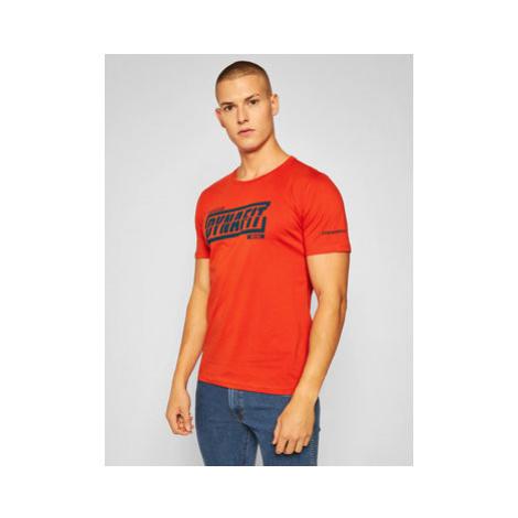 Dynafit Tričko Graphic Co 08-0000070998 Oranžová Regular Fit