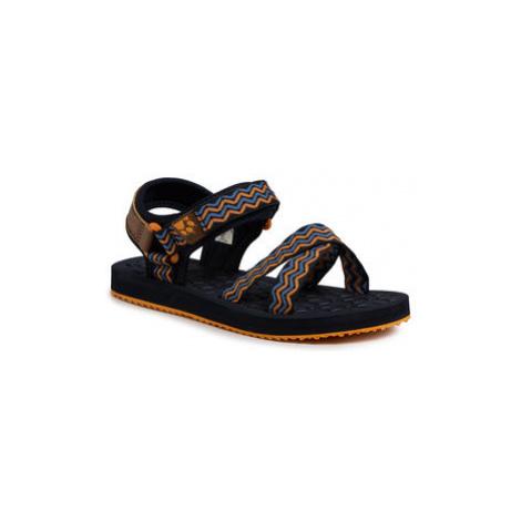 Jack Wolfskin Sandále Zulu K 4039891 D Tmavomodrá