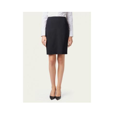 Boss Puzdrová sukňa Vilea 50291813 Tmavomodrá Slim Fit Hugo Boss