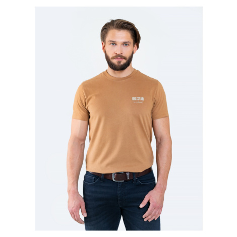 Big Star Man's T-shirt_ss T-shirt 150891 Light Knitted-803