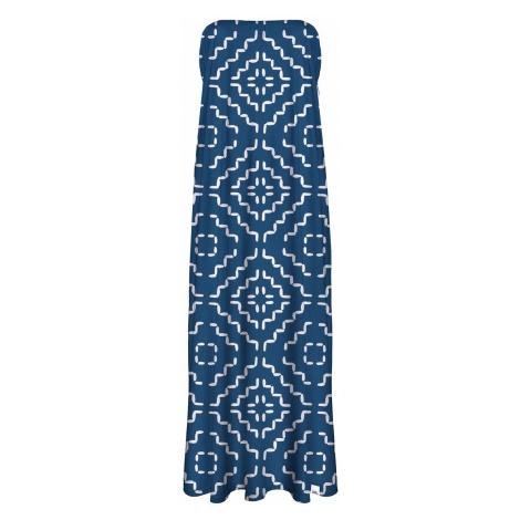 Modro-biele šaty CP-027 Colour Pleasure