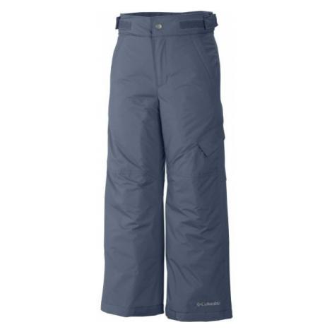 Columbia ICE SLOPE II PANT tmavo modrá - Chlapčenské lyžiarske nohavice
