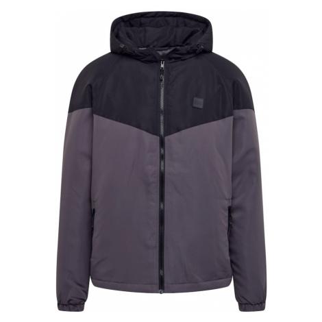 Urban Classics Prechodná bunda  čierna / sivá