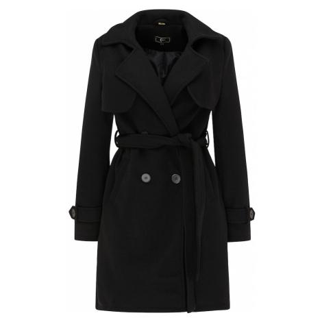 faina Prechodný kabát  čierna