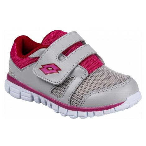 Lotto SPEEDRIDE 600 III INF S biela - Detská voľnočasová obuv
