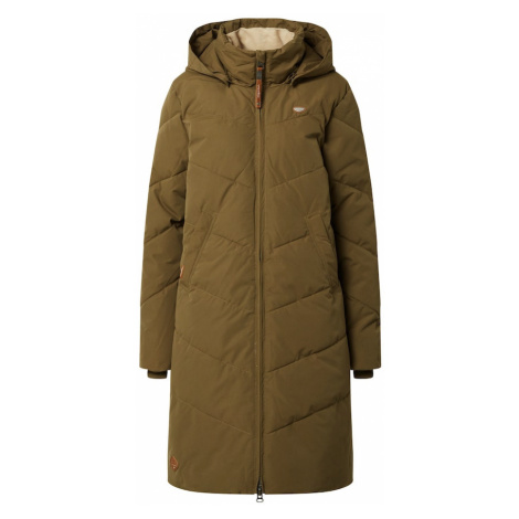 Ragwear Zimný kabát 'REBELKA'  olivová