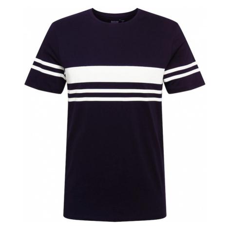 BURTON MENSWEAR LONDON Tričko  čierna / biela