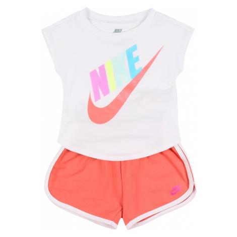 Nike Sportswear Set 'FUTURA SS TEE & SHORT SET'  oranžová