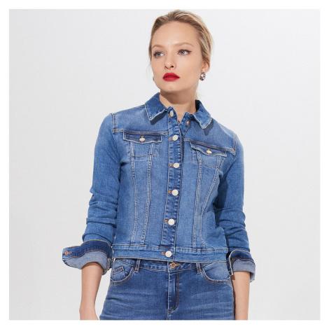 Mohito - Krátka džínsová bunda - Modrá